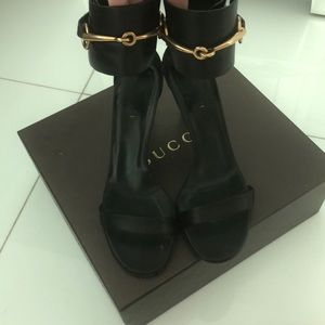 Gucci heals worn once to a event